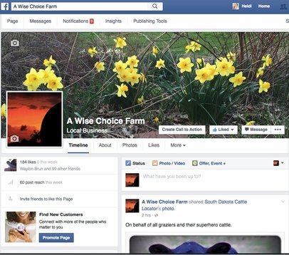 A Wise Choice Farm Facebook Page